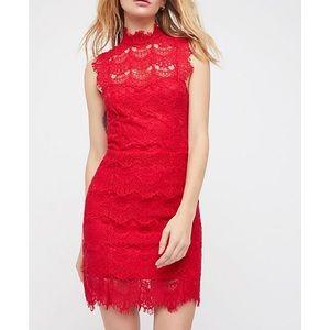 Free People Daydream Lace Dress